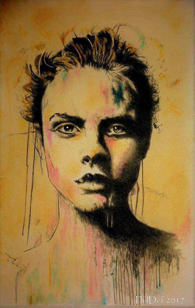 Cara Delevingne by Phildef